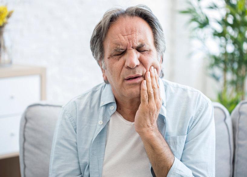 painful dental cavity